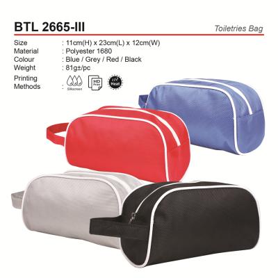 BTL 2665-III Toiletries Bag