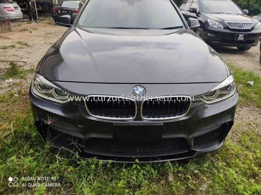 BMW 320I M PERFORMANCE STEERING WHEEL REPLACE ALCANTARA