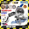 """SSEMPROX SMS2101 8"""" Mitre Saw Light Weight with Dust Bag for Wood & Aluminium 1250W Mitre Saw , Table Saw Power Tool"""