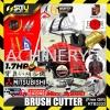 Romeo RTB3333 Mitsubishi Engine Brush cutter TB33 1.7HP 33cc 24mm Heavy Duty 2-stroke Engine(F.GIFT) Brush Cutter Agriculture & Gardening