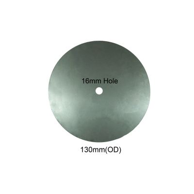 Round Plate 16mm Hole - 130mm