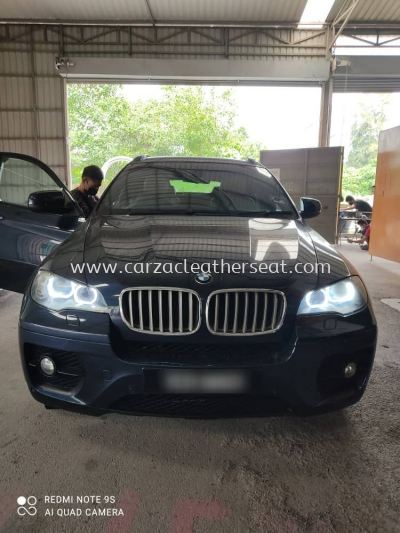 BMW X6 ROOF LINER COVER REPLACE