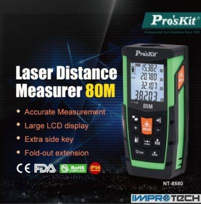 PRO'SKIT [MT-8580] Laser Distance Measurer(80M)