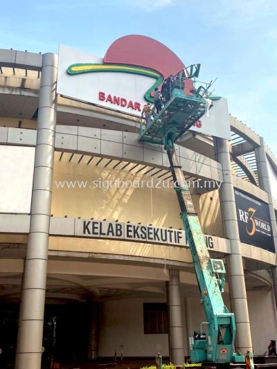 KLANG EXECUTIVE CLUB 3DBOXUP FRONTLIT SIGNBOARD AT KLANG, SELANGOR, MALAYSIA