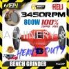 """HELI HL220P 8"""" Bench Grinder 3560rpm 800W Bench Grinder Metal Working Machine"""
