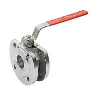 CAST JADE WAFER BALL VALVE IN CAST STAINLESS STEEL