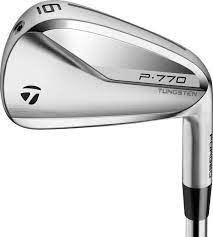 Taylormade P770 Ns Pro Neo 950GH Steel R Flex irons 4-9,pw
