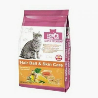 I CATS 7KG -HAIRBALL & SKIN CARE