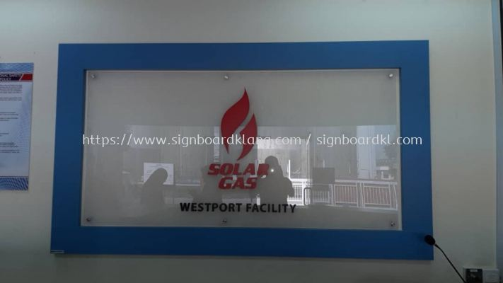 solar gas acrylic poster frame indoor signage signboard