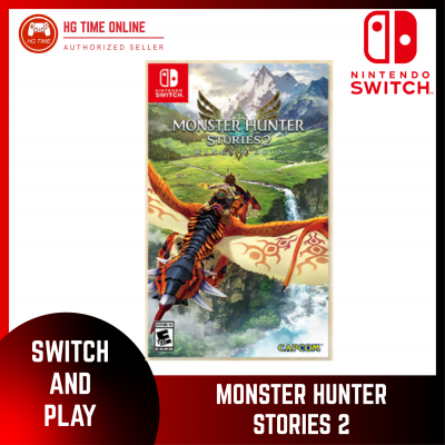 [PRE ORDER] NSW Nintendo Switch Monster Hunter Stories 2 : Wings of Ruin | Estimate Release JULY 202