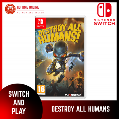 [PRE ORDER] NSW Nintendo Switch DESTROY ALL HUMAN ENG+CHN | ESTIMATE RELEASE JUNE 2021