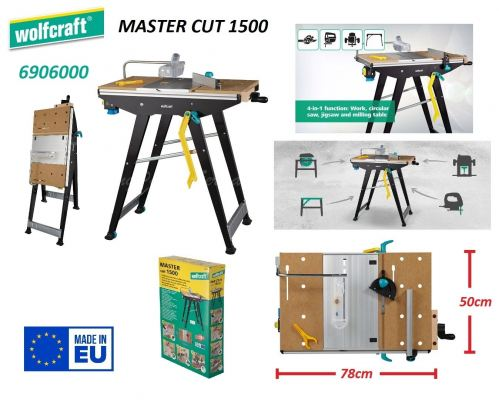 Wolfcraft Master Cut 1500 Precision Working and Machine Table ID32761