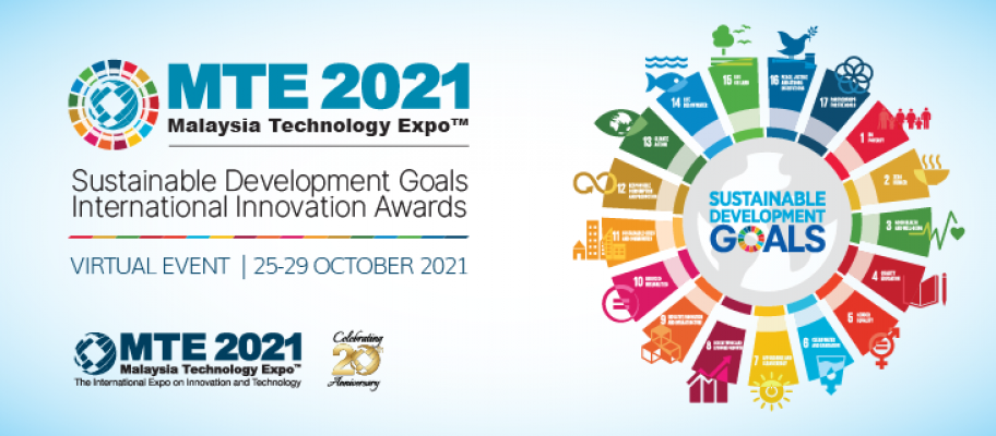 MTE 2021�C SUSTAINABLE DEVELOPMENT GOALS INTERNATIONAL INNOVATION AWARDS (SDGIIA)