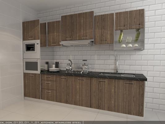 Creative Sample Of Selangor Kitchen Cabinet Shop / Contractor  (Wet Kitchen / Dry Kitchen)