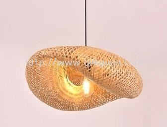 HAN 088 - BAMBOO PENDANT LIGHT WITH LIGHT FITTING