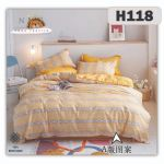 H118 - King/Queen 4in1 Fitted Sheet