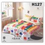 H127 - King/Queen 4in1 Fitted Sheet