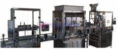 IN LINE AUTOMATIC RINSING �C FILLING- CAPPING MACHINE FILLING / CAPPING MACHINE