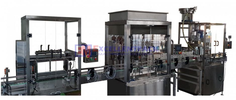 IN LINE AUTOMATIC RINSING �C FILLING- CAPPING MACHINE