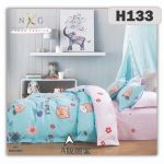 H133 - King/Queen 4in1 Fitted Sheet