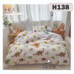 H138 - King/Queen 4in1 Fitted Sheet