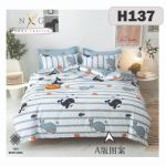 H137 - King/Queen 4in1 Fitted Sheet