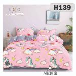 H139 - King/Queen 4in1 Fitted Sheet
