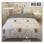 H132 - King/Queen 4in1 Fitted Sheet