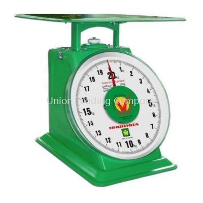 """NHON HOA 8"""" NHS MECHANICAL SPRING SCALE (INCLUDED DOUBLE FACE)"""