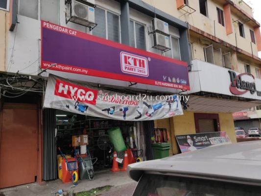 KTH PAINT INDUSTRIES SDN BHD POLYCARBONATE SIGNBOARD at Klang, Selangor1