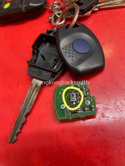 repair Toyota old camry car remote control