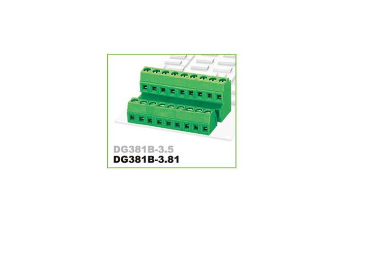 DEGSON DG381B-3.5/3.81 PCB UNIVERSAL SCREW TERMINAL BLOCK