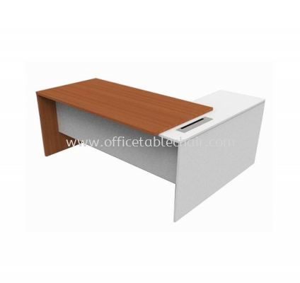 ALISCO EXECUTIVE TABLE WITH FIXED PEDESTAL 1D1F