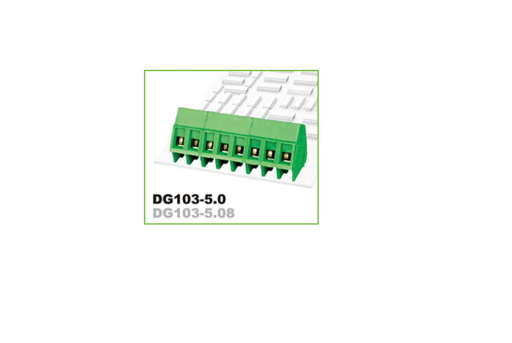 DEGSON DG103-5.0 PCB UNIVERSAL SCREW TERMINAL BLOCK