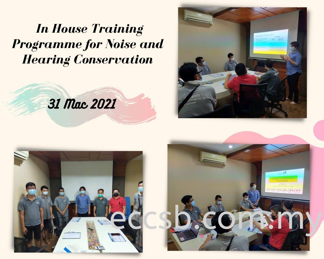 In-House Training Programme for Noise and Hearing Conservation