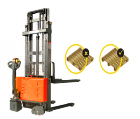 1 ton GEOLIFT Walkie Electric Stacker - EES1033