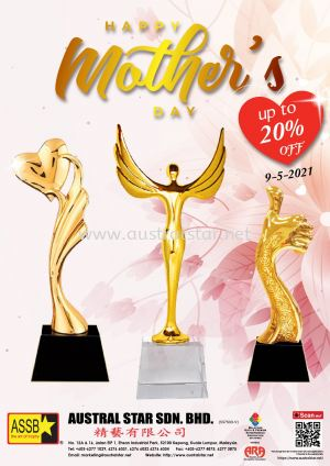 HAPPY MOTHER'S DAY 20% OFF