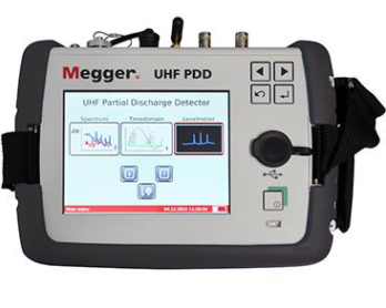 MEGGER UHF PD Detector - Handheld Online PD Substation Surveying System