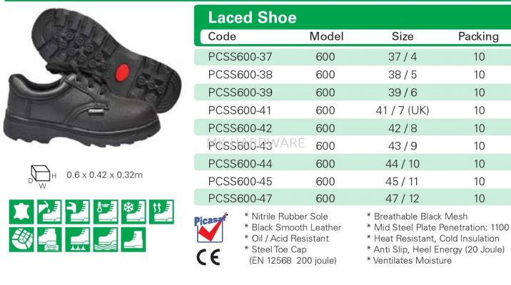 LACED SHOE