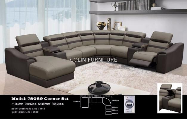 AMZEMC R 78089 Corner Shape Sofa