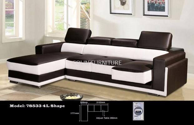 78533 4L Shape Sofa