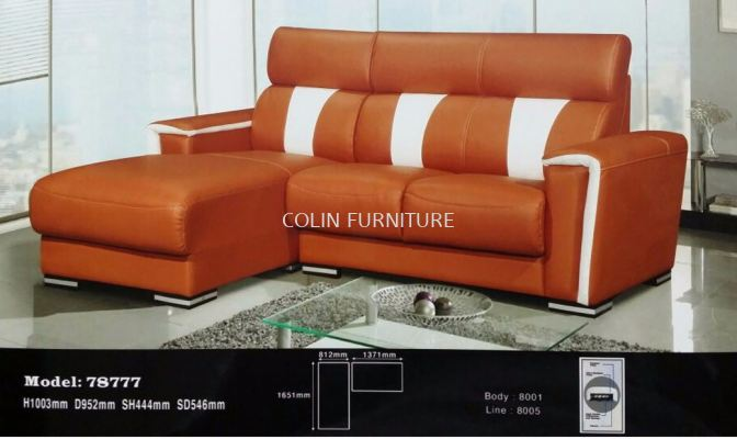 78777 3L Shape Sofa