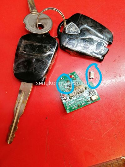 repair proton car remote control