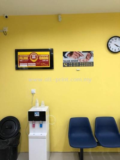 Pajak Gadai Pj Old Town - Acrylic Signage