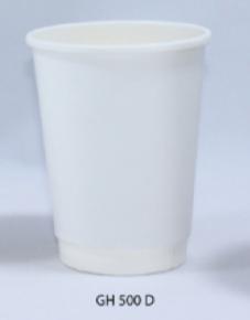 12oz Double wall paper cup M.o.q 500pcs