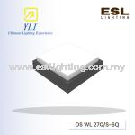 YLI LED Surface Wall Light OS WL 270/S-SQ (LED 14.8W) IP65