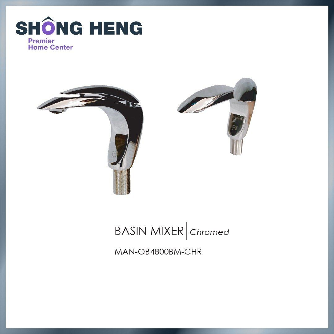 BASIN MIXER ( CHROMED) MAN OB4800BM ( CHR)