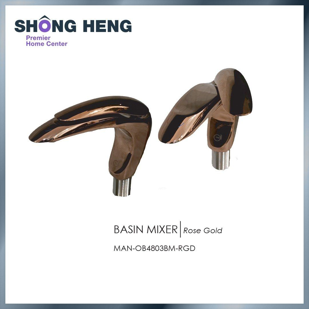 BASIN MIXER ( ROSE GOLD) MAN OB4803BM ( RGD)