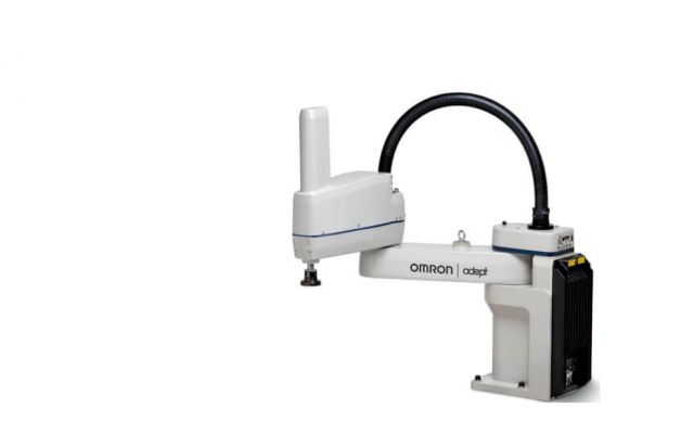 OMRON Cobra 450 Mid-size SCARA robot for material handling, assembly, precision machining and adhesi