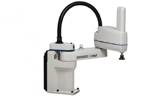 OMRON eCobra 600 Mid-size SCARA robot for precision machining, assembly, and material handling